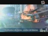 Caen - Lycées en Grève : Blocage ... OUI, mais pacifique !