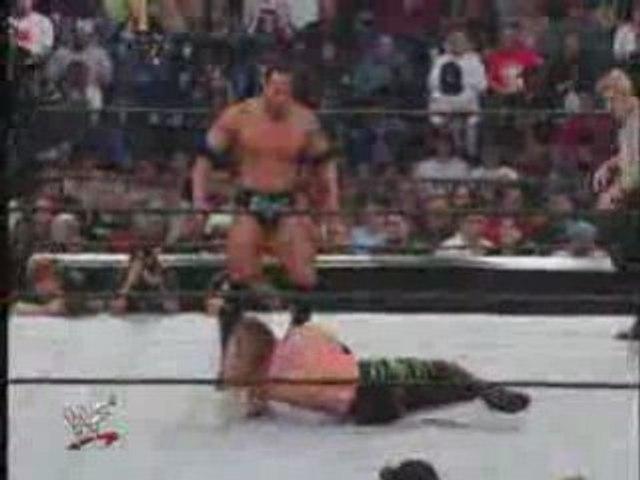 Chris Jericho Vs The Rock WCW World Title 2001 Part 2