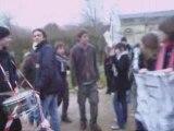 Manifestation contre la Réforme Darcos lycée jean monnet
