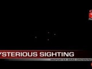 Mysterious red lights in sky - CNN - 22 AVRIL 2008 à Phoenix