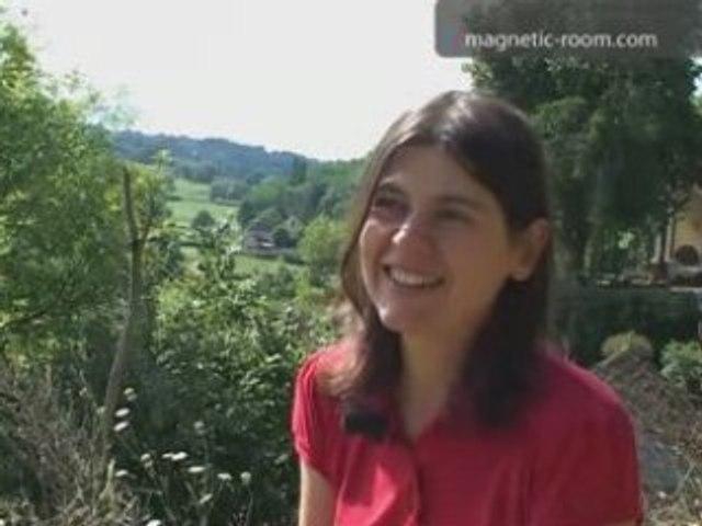Julie Morel, artiste - Interview Magnetic Room