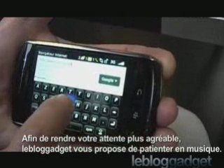 Blackberry Storm - essai
