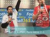 Football365 : PSG-VALENCIENNES commenté par deux internautes