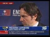 BFMTV - L'UMP défend Julien Dray  -22.12.08