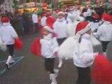 La parade du Père Noël à La Ferté-sous-Jouarre