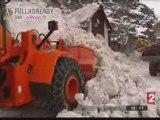 Isola 2000 dégagée  après  les avalanches [news] F2 191208