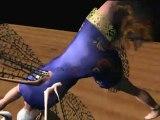 Truespace 7.6 MotionBuilder animation test 12/25