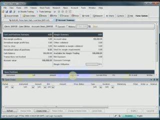 FX Trading system – Tricom Trader workspace setup