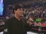 Debuts- Eric Bischoff debuts as a new GM of RAW Part 2