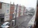 Il neige sur mon balcon 2008
