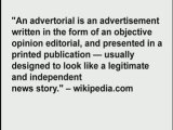 advertorials -- 500+ online marketing tools and methods