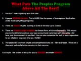 Peoples Program Cash Gifting Program Best Online