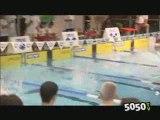 Hugues Duboscq , champion de natation