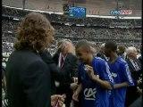 Lyon - Strasbourg 1-3 Remise de la Coupe