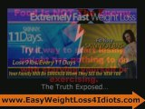 FAST Weight Loss, Fat Loss and Easy Diet SCAMS Revealed...