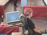 Carrozzina a impulsi cerebrali