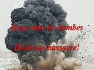 Gaza ! Halte au massacre