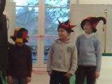 Clowns à l'atelier cirque du Jardin d'Acclimatation