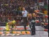 Psicosis and Juventud Guerrera vs Kidman and Rey Mysterio
