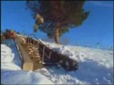 Snow board freestyle