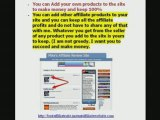 Best affiliate website with best selling products FREE!