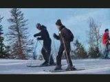 Ski freeride extreme