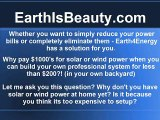 Solar Power Video Energy for Our Beautiful Earth Power