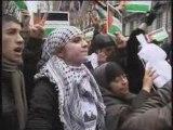 Manif Lyon Gaza 3 janvier 09