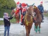 défilé à cheval