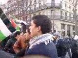 manifestation de soutien à Gaza et Hamas 03 janvier 2009
