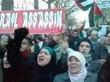 manifestation  solidarité PALESTINE