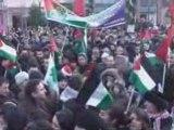 Manifestation contre la barbarie sioniste à Gaza 1