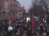 Manifestation contre la barbarie sioniste à Gaza 3