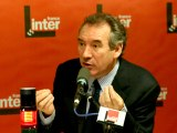 François Bayrou - France Inter