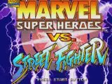 Marvel Super Heroes vs Street Fighter  Sega Saturn