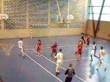 Basket cadets- coupe de france Brunoy - St Quentin