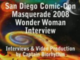 Captain Biorhythm Interviewed Wonder Woman