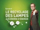 Le recyclage des lampes à économie d'énergie
