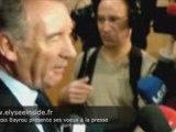 François Bayrou présente ses voeux à la presse