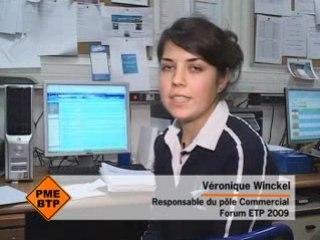 Au Coeur de la préparation du Forum ETP 2009