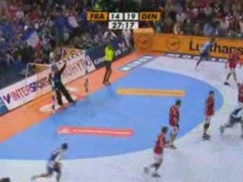 Résumé France - Danemark: Mondial de Handball 2007