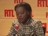 Rama Yade, invité de RTL (08/01/2009)