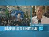 Tirs de roquettes sur Israël depuis le Liban