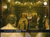 Les serbes célèbrent le Noël orthodoxe