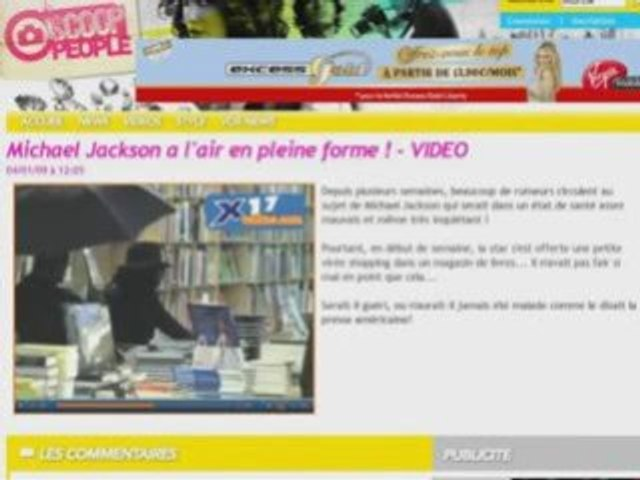 Michael Jackson - Les mensonges de la Presse People