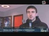 Foot, Valenciennes - Caen : Steve Savidan nostalgique !