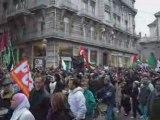 Manifestation à Grenoble contre les masacres d'Israal à Gaza