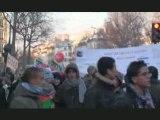 Manif  en soutien à Gaza 10 janvier 2009 à Paris