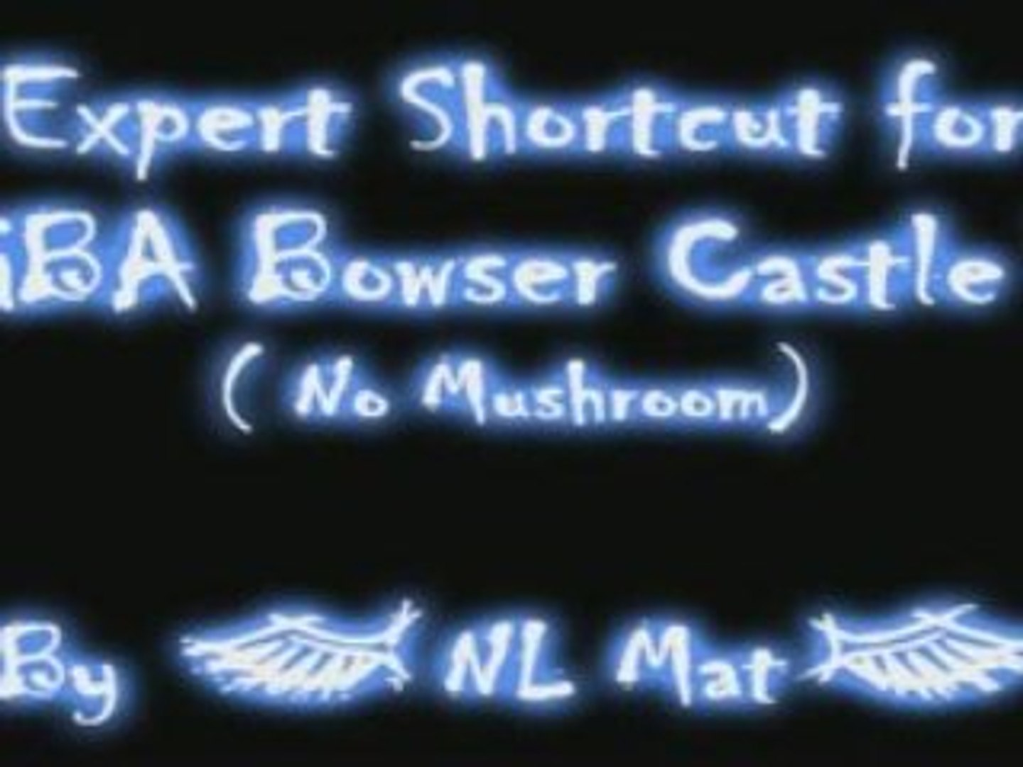 Mario Kart Wii Nex Expert Shortcut For Gba Bowser Castle 3