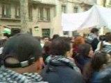 MANIF LYON GAZA 10 01 2009